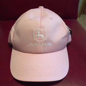 John Deere new with Tags cap pink